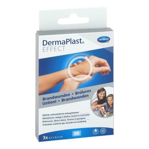 Dermaplast Effect Brandwunden 4,5x6,5 cm Pflaster