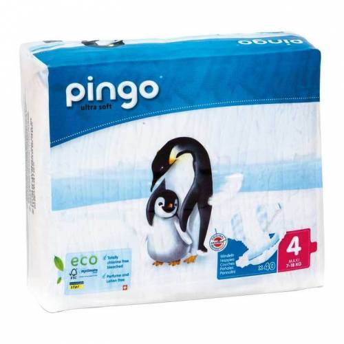Bio Windeln maxi 7 - 18 kg Pinguin Pingo Swiss