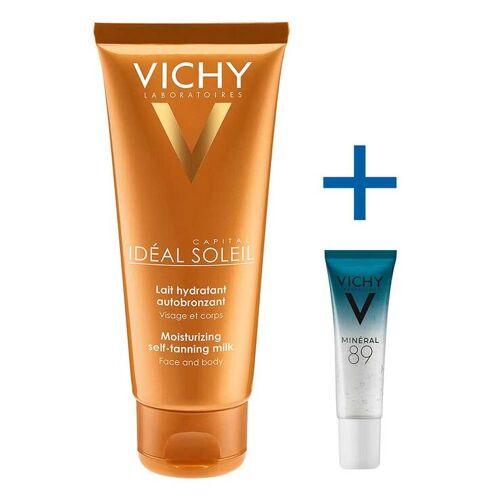 Vichy Idéal Soleil Selbstbräuner-Milch für Gesicht und Körper