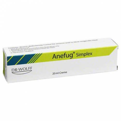 Aknefug Anefug simplex Creme