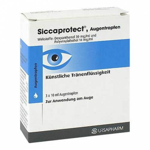 Hylo Eye Care Siccaprotect Augentropfen