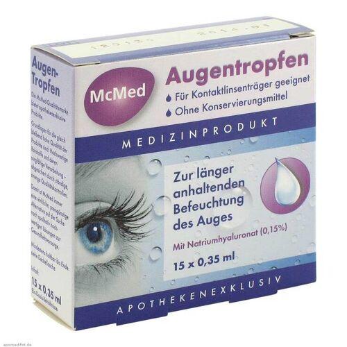 Mcmed Augentropfen Einzeldosispipetten