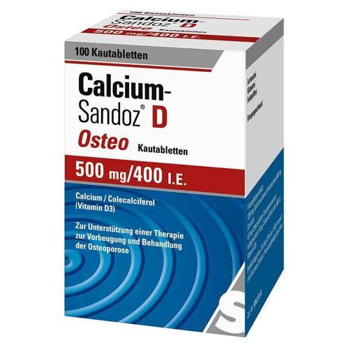 Calcium-Sandoz Calcium Sandoz D Osteo Kautabletten