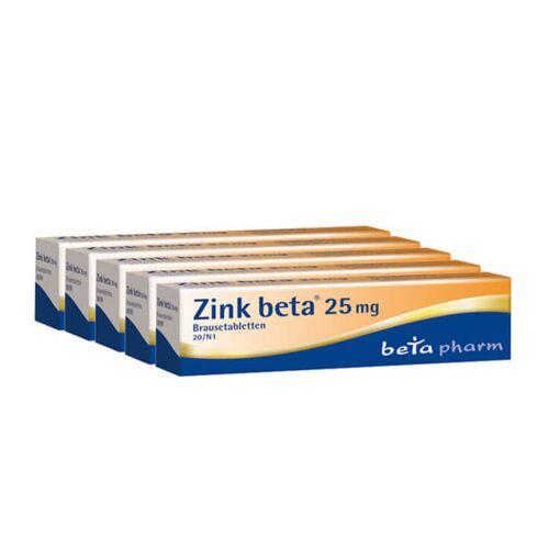 Beta Zink Beta 25 Brausetabletten
