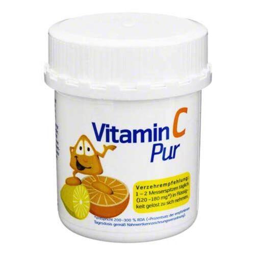 Vitamin C pur Pulver
