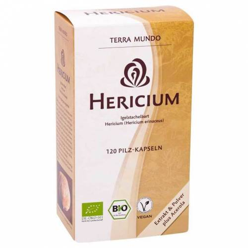 Hericium Vitalpilz Bio Terra Mundo Kapseln