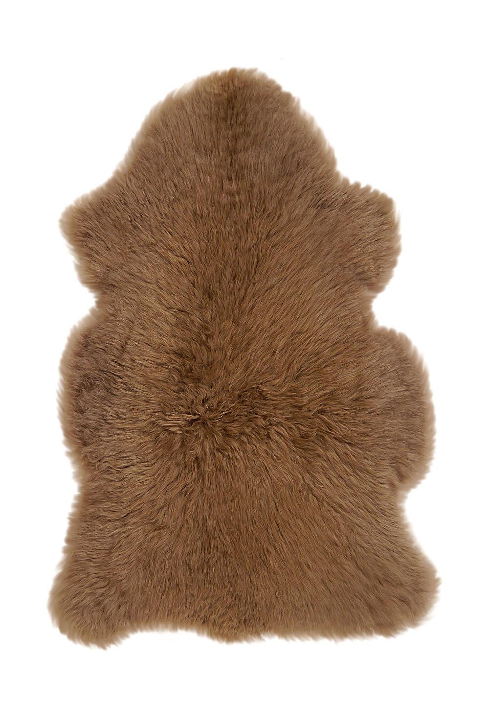 Kaiser Naturfellpro Dekorationsfell, Lammfell, L90-100 cm braun