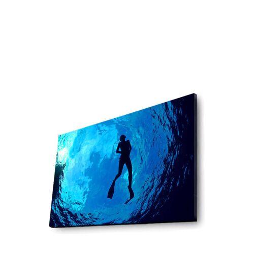 Wallity LED-Wandbild Wallity, B70 x H45 x T3 cm