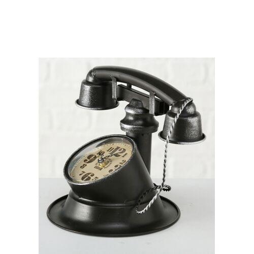 Boltze Uhr Telefon, L25 x B21 x H21 cm