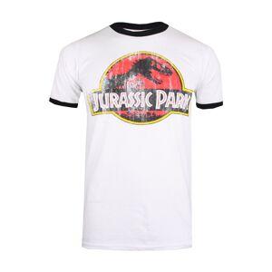 Classic Collection T-Shirt Jurassic Park, Kurzarm, Rundhals weiß