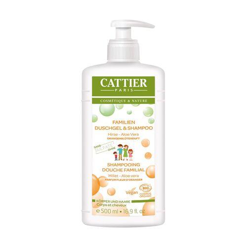 Cattier Paris Duschgel & Shampoo, 6 x 500ml [17,33€*/1l]
