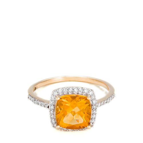 LE Diamantaire Ring Rio Grande, 375 Gelbgold, Diamant