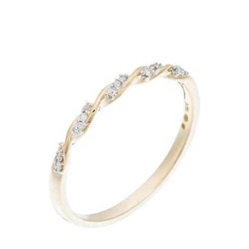 Diamanta Ring, 375 Gelbgold, Diamant