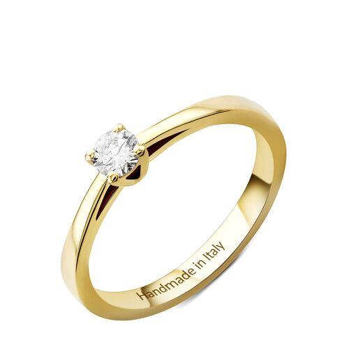 Diamant PUR Ring, 585 Gelbgold, Diamant