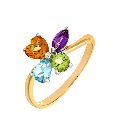Rinani Ring, 375 Gelbgold, Amethyst