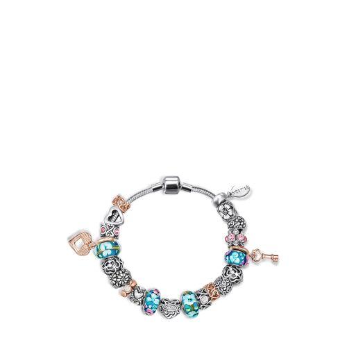 Mestige Charm Armband Cherished, Swarovski® Crystals bunt