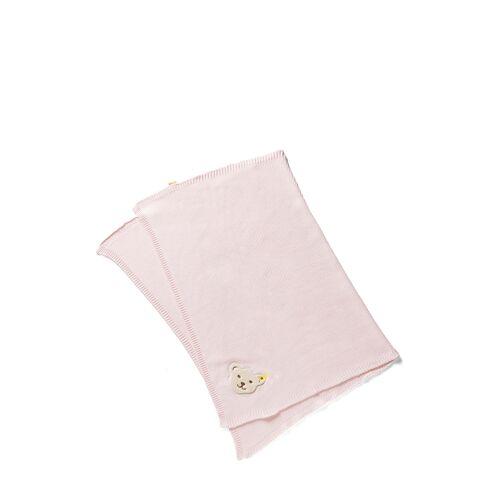 Steiff Babydecke, L46 x B33 cm rosa