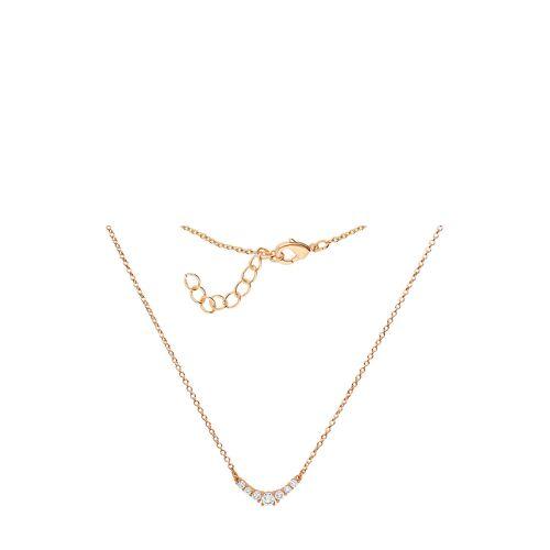 Steel_Art Halskette, Edelstahl, Kristall gold