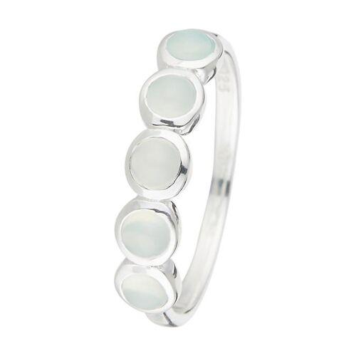Jovelli Ring, 925 Sterlingsilber, Chalzedon