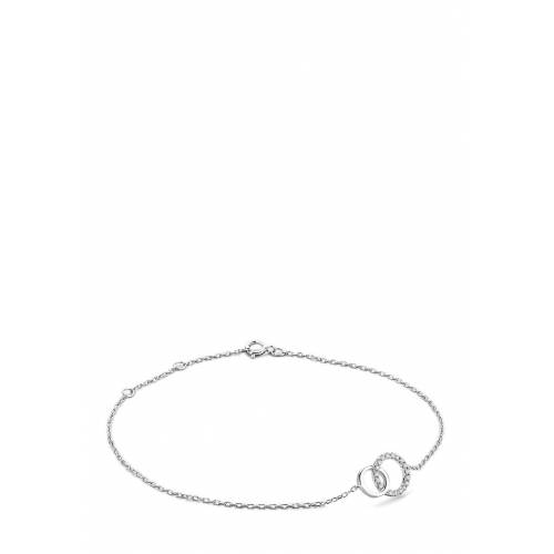 Diamant PUR Armband, 375 Weißgold, Diamant silber