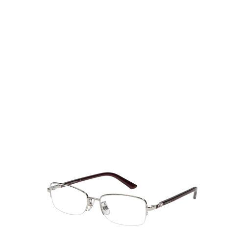 Swarovski Brillengestell Sk5203-D-16A, silbern/schwarz braun