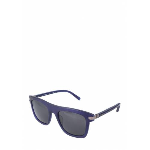 Ferragamo Sonnenbrille Sf785S, UV 400, matt blau