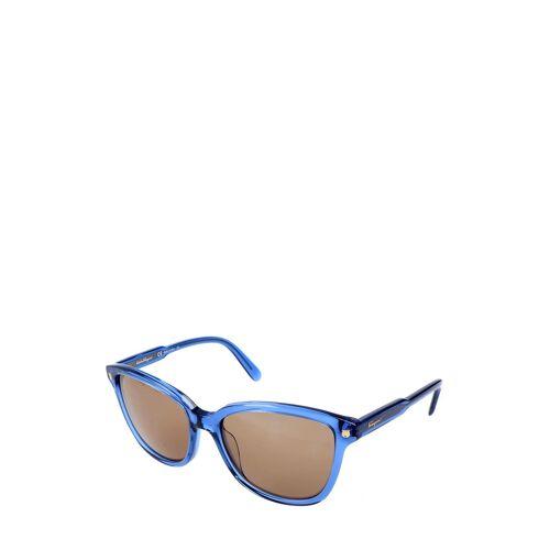 Ferragamo Sonnenbrille Sf815S, UV 400, blau