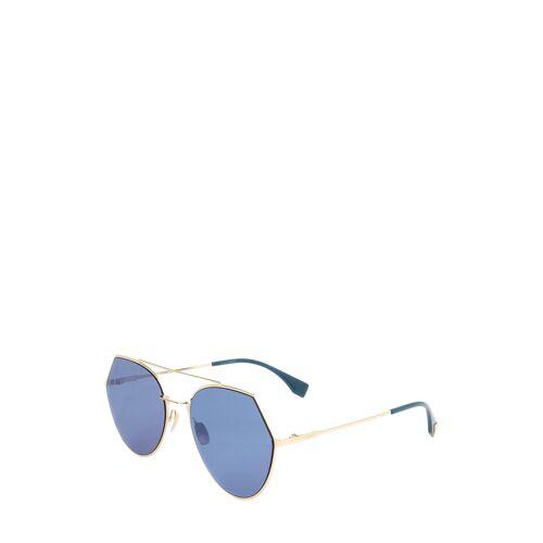 Fendi Sonnenbrille FF 0194, UV 400, golden