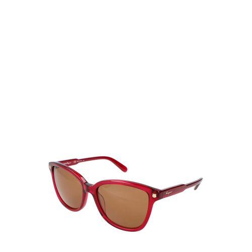 Ferragamo Sonnenbrille Sf815S, UV 400, rot