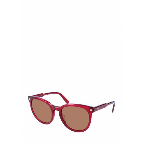 Ferragamo Sonnenbrille Sf816S, UV 400, rot