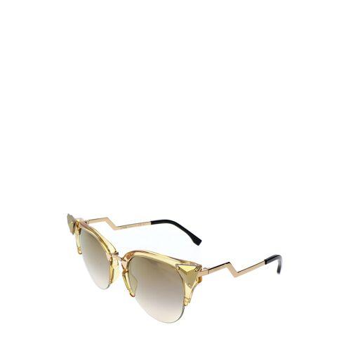 Fendi Sonnenbrille Ff-041, UV 400, gelb/golden