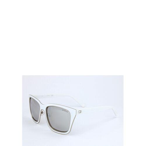 Guess Sonnenbrille Gu6850, UV 400, weiß