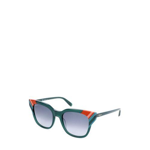 Ferragamo Sonnenbrille Sf875S, UV 400, grün