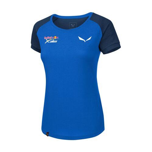 Salewa T-Shirt Redbull X-Alps, Rundhals, Athletic Fit blau