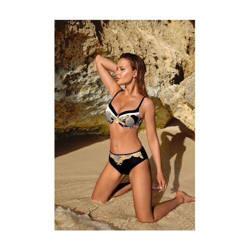Aquarilla Push-Up-Bikini Braga, noir bunt