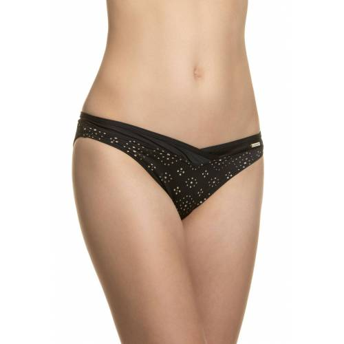 Sunseeker Bikini-Slip, schwarz/beige