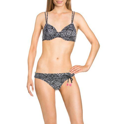 Bench Bügel-Bikini, gepolstert, schwarz/weiß
