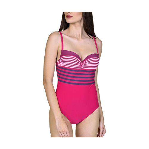Lisca Badeanzug, wattiert, pink rosa