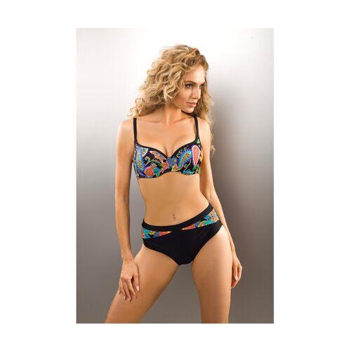 Aquarilla Push-Up-Bikini Brasil, noir bunt