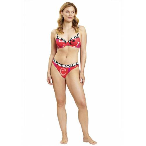 Féraud Bügel-Bikini, letters rot