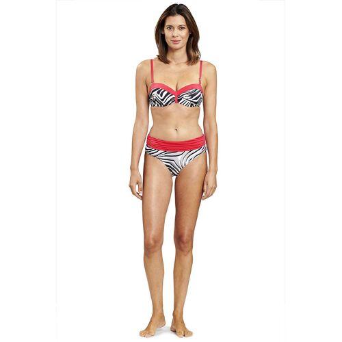 Féraud Bügel-Bikini, zebra rosa