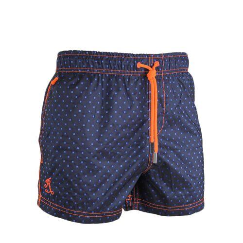 Ramatuelle Bade-Shorts Maurice, Short Fit, blau