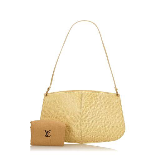 Louis Vuitton Clutch, Leder, B16 x H26 x T7 cm gelb