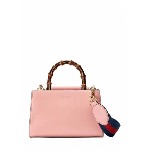 Gucci Tragetasche, Leder, B23 x H15 x T11 cm rosa