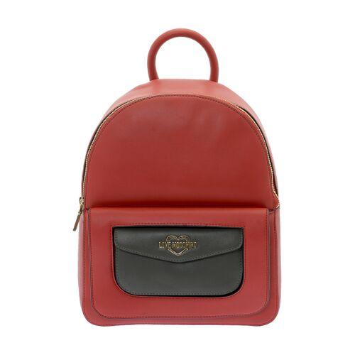 Love Moschino Rucksack, B27 x H33 x T18 cm rot