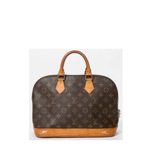 Louis Vuitton Vintage-Tragetasche Alma MM, 30x23x16cm braun