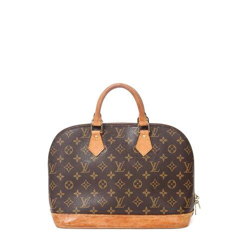 Louis Vuitton Vintage-Tragetasche Alma MM, B30 x H23 x T16 cm braun