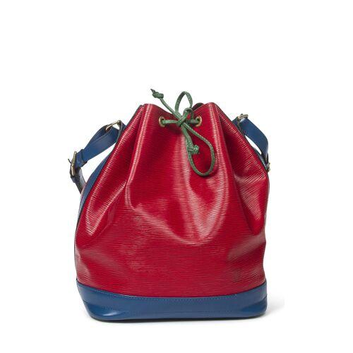 Louis Vuitton Vintage-Schultertasche Noe Tricolor GM rot