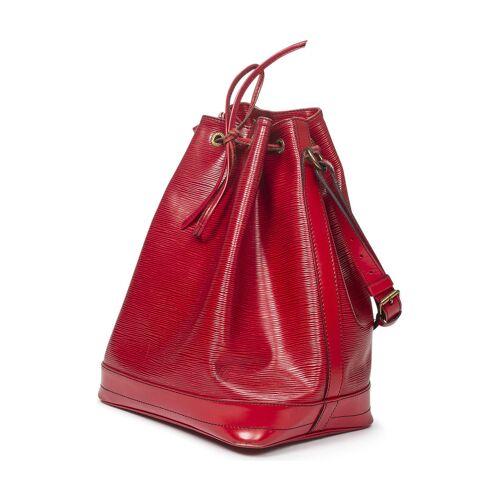 Louis Vuitton Vintage-Schultertasche Noe, Leder, 27x34x16cm rot