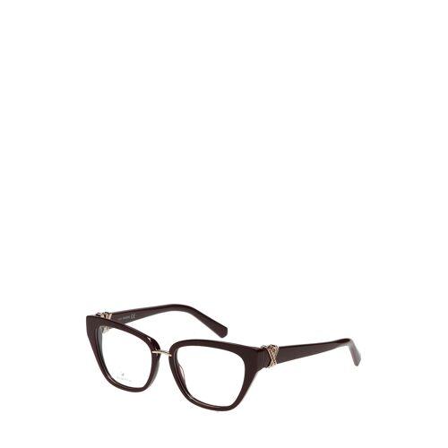 Swarovski Brillengestell Sk5251-069, dunkelrot